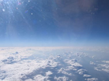 A view above the clouds!
