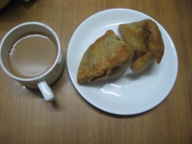 Garam Chai and Samosa